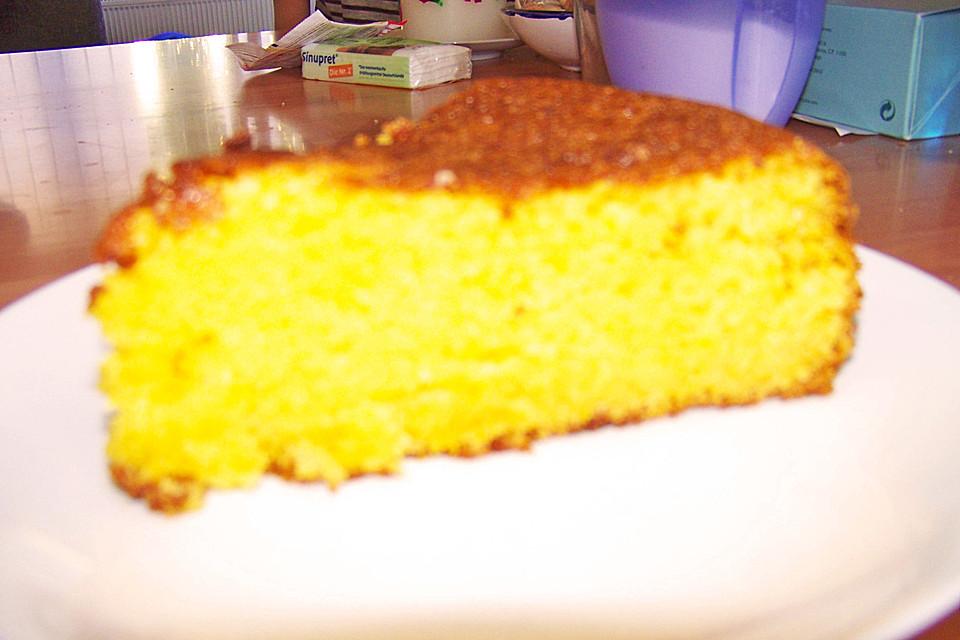 Orangenkuchen Mit Schale Von Monijack Chefkoch De