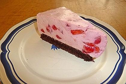 Krümelmonstaaas frühlingsleichte glutenfreie Erdbeer-Käsesahnetorte (Bild)