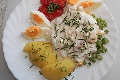 Kartoffeln mit Quark nach Omas Art (Bild)