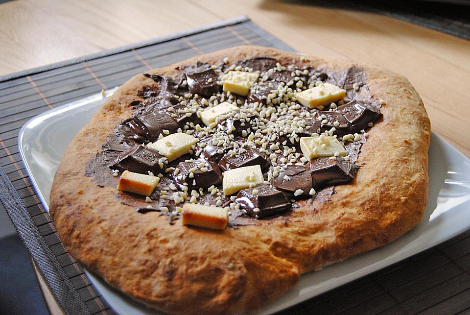 Schokopizza Von Keksdosenrocker Chefkochde