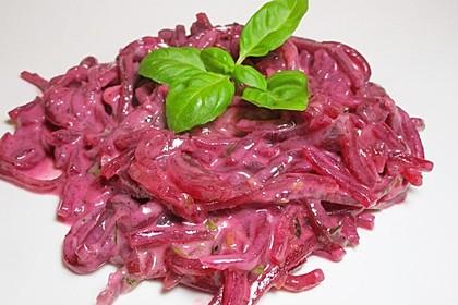 krümeltigers Rote Bete-Spaghetti 1