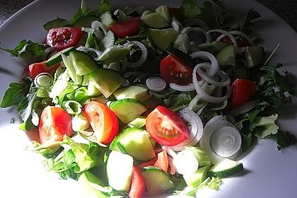Einfacher Salat 7