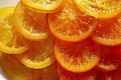 Kandierte Orangen