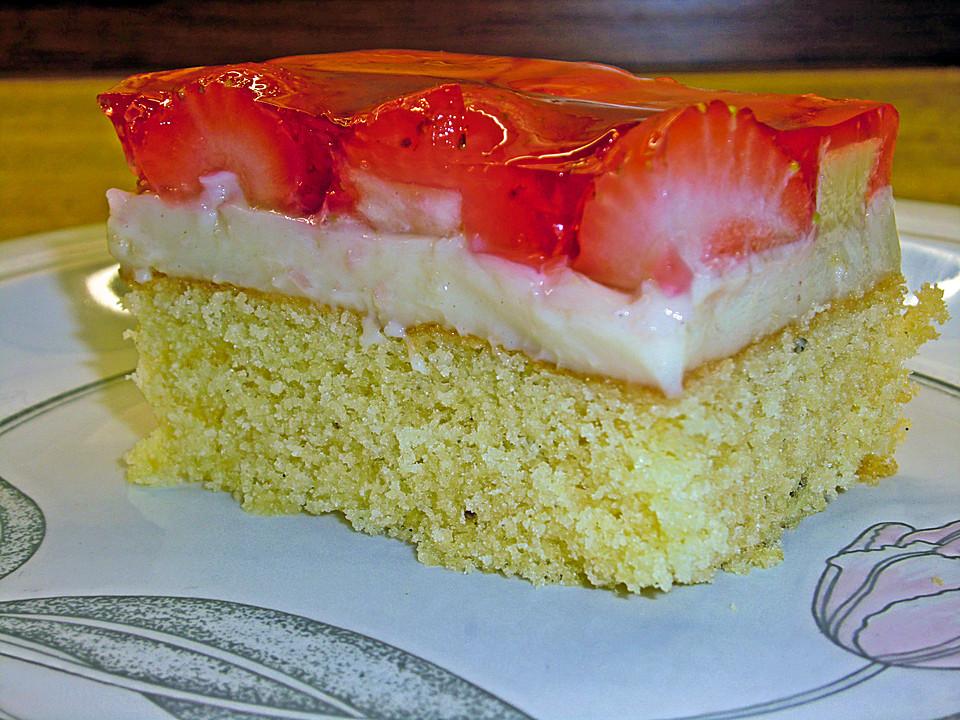 Glutenfreier Erdbeer Bananen Kuchen Von Kochfee46 Chefkoch De