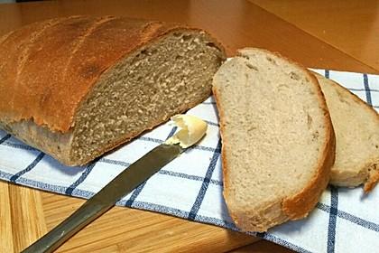 Weizenmischbrot für den Brotbackautomaten 1