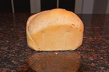 Weizenmischbrot für den Brotbackautomaten