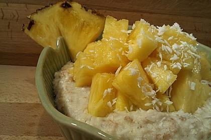 Porridge à la Pina Colada (Bild)