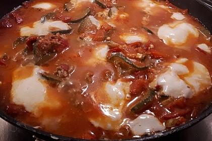 Hackfleischpfanne mit Tomaten und Gemüse 62