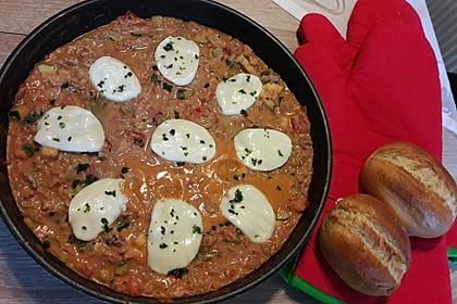 Hackfleischpfanne mit Tomaten und Gemüse 47
