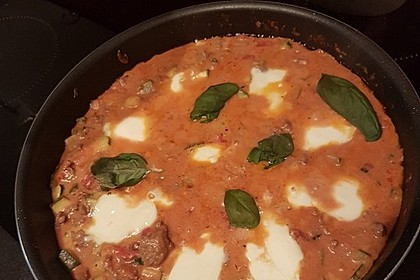 Hackfleischpfanne mit Tomaten und Gemüse 59