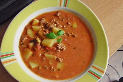 Hack - Tomatensuppe 2