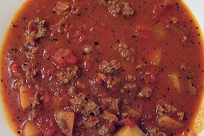 Hack - Tomatensuppe 1