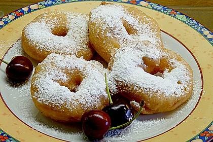 Fritierte Apfelringe