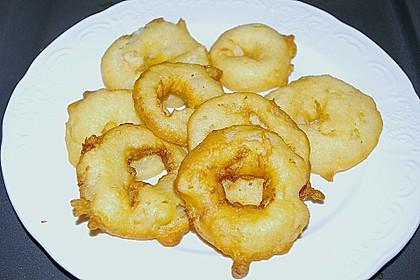 Fritierte Apfelringe 1