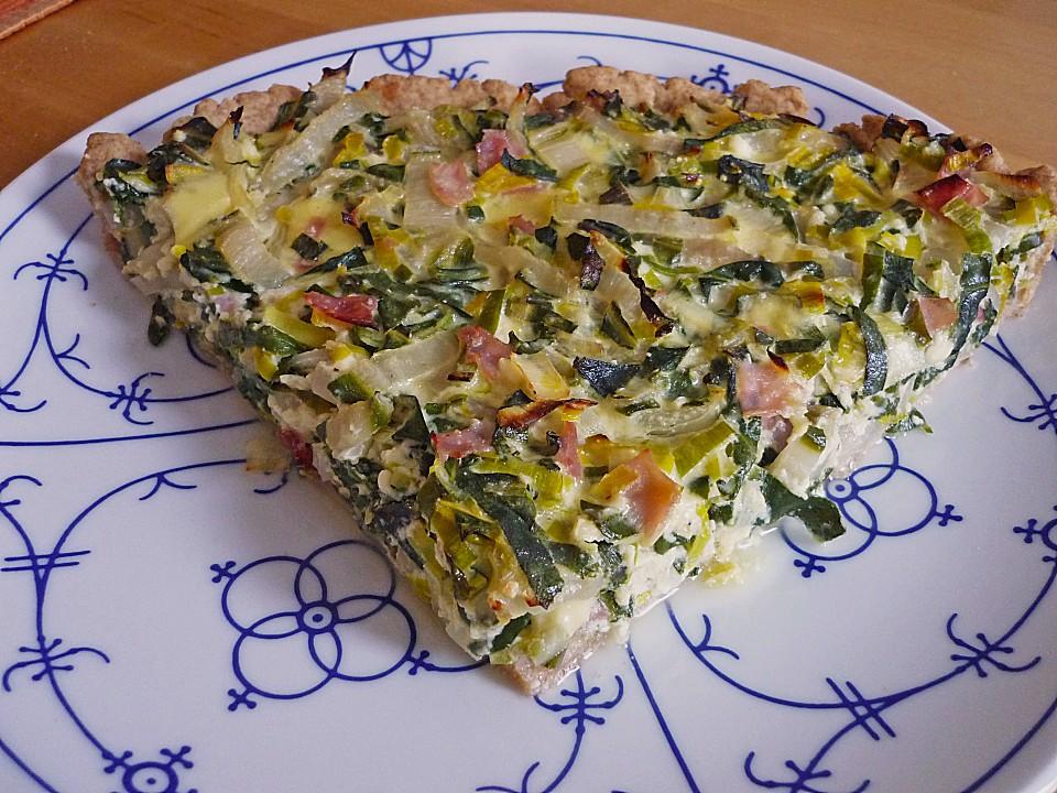 Mangold Quiche Von Pingu41269 Chefkoch