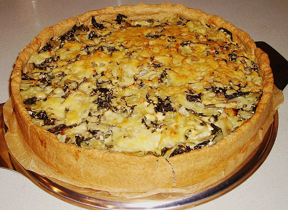 Mangold Quiche Von Pingu41269 Chefkoch De
