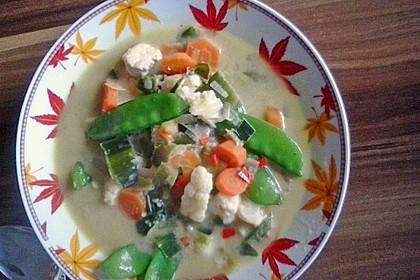 Thailändische Suppe 8
