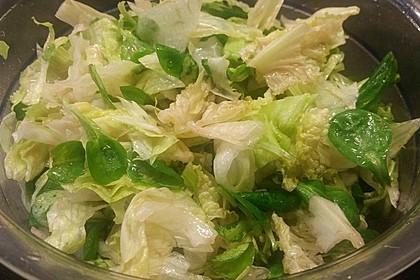 Salatdressing Essig und Öl 19