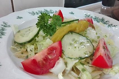Salatdressing Essig und Öl 5