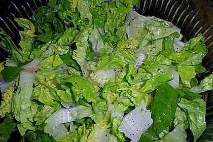 Salatdressing Essig und Öl 8