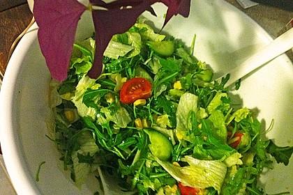 Salatdressing Essig und Öl 12