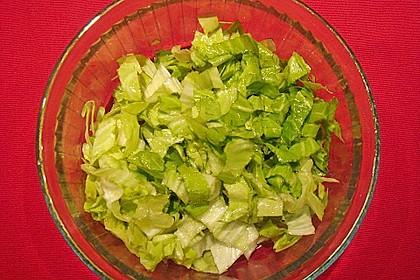 Salatdressing Essig und Öl 11