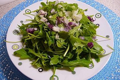 Salatdressing Essig und Öl 9