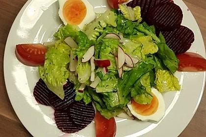 Salatdressing Essig und Öl 15