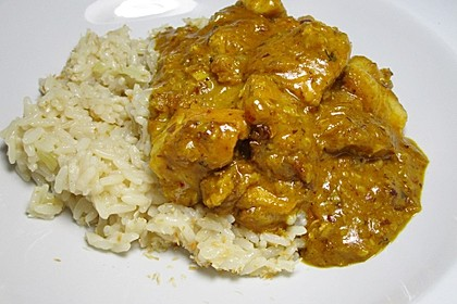 Indisches Chicken Korma 5