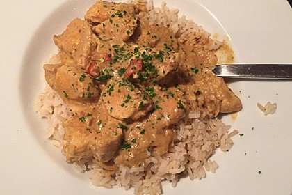Indisches Chicken Korma 18