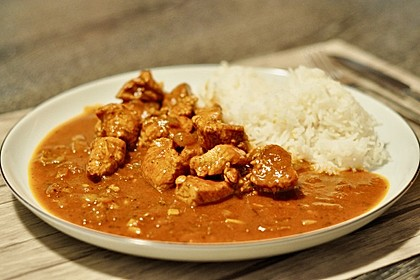 Indisches Chicken Korma 3