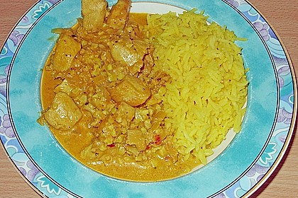 Indisches Chicken Korma 47