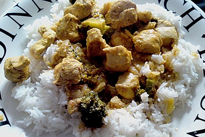 Indisches Chicken Korma 30