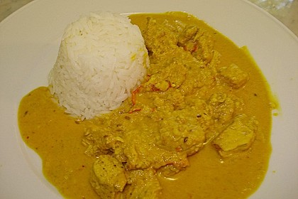 Indisches Chicken Korma 54