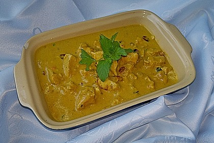 Indisches Chicken Korma 12