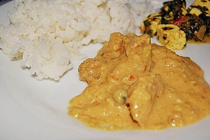 Indisches Chicken Korma 29