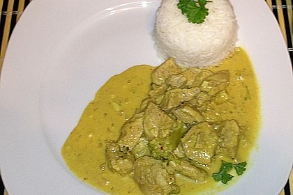 Indisches Chicken Korma 52