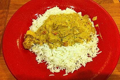 Indisches Chicken Korma 45