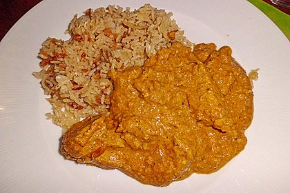 Indisches Chicken Korma 42