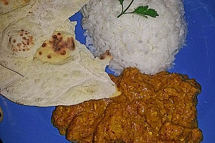 Indisches Chicken Korma 20