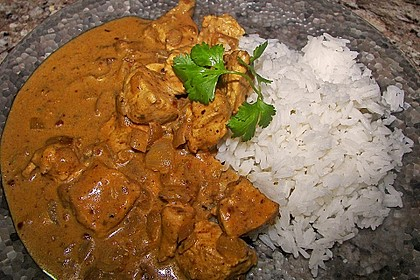 Indisches Chicken Korma 7