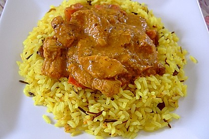Indisches Chicken Korma 8