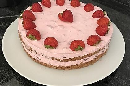 Erdbeer - Yogurette - Torte 74