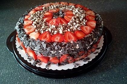 Erdbeer - Yogurette - Torte 51