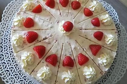 Erdbeer - Yogurette - Torte 16