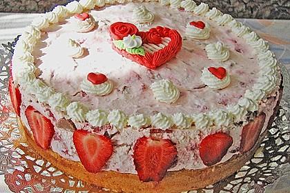 Erdbeer - Yogurette - Torte 46