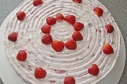 Erdbeer - Yogurette - Torte 57