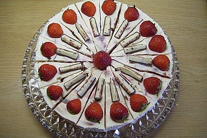 Erdbeer - Yogurette - Torte 31