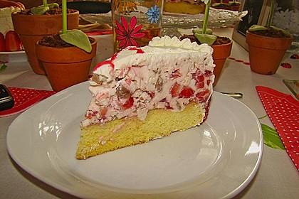 Erdbeer - Yogurette - Torte 91
