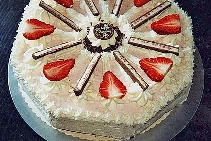 Erdbeer - Yogurette - Torte 45